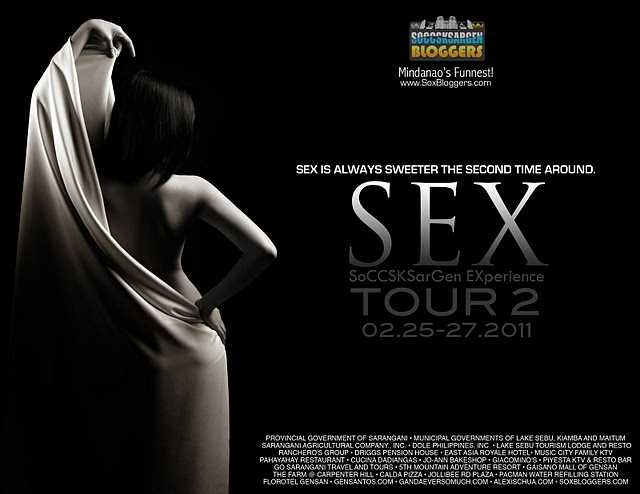 Teaser Poster for The SEX Tour II courtesy of Montage Photography and Alexis Chua