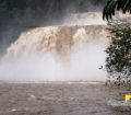 Chocolaity Tinuy-an Falls on a stormy weather!
