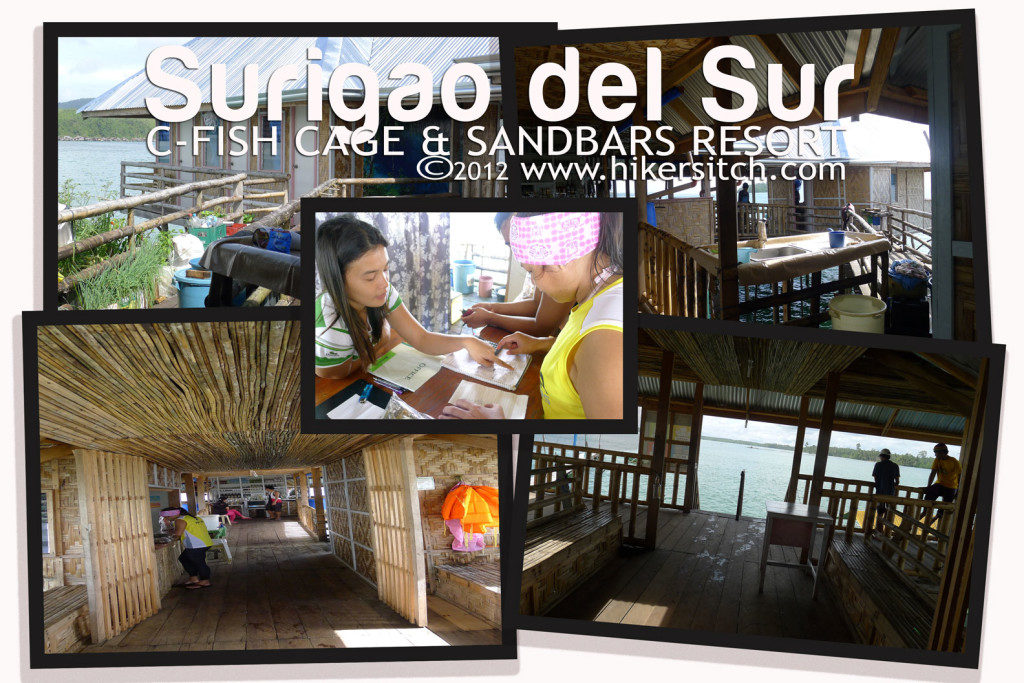 Amenities inside C Sand Bar Resort and Fish Cages