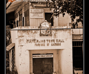 Facade of the Old Mambajao Town Hall now a Municipal Library