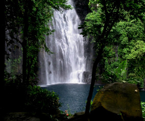 Famed Tinago Falls a favorite tourist spot in Iligan City