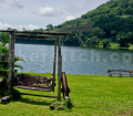 """Lake Apo as viewed on a private """"backyard"""". The still waters is perfect for relaxing.."""