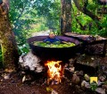 A fitting Kawa hot bath for the king  in Tibiao Antique!
