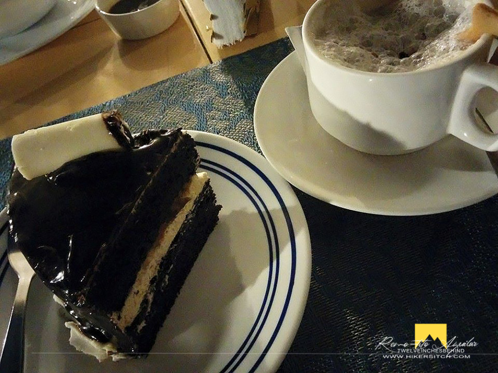 Sweet hate liking plus coffee at Sans Rival