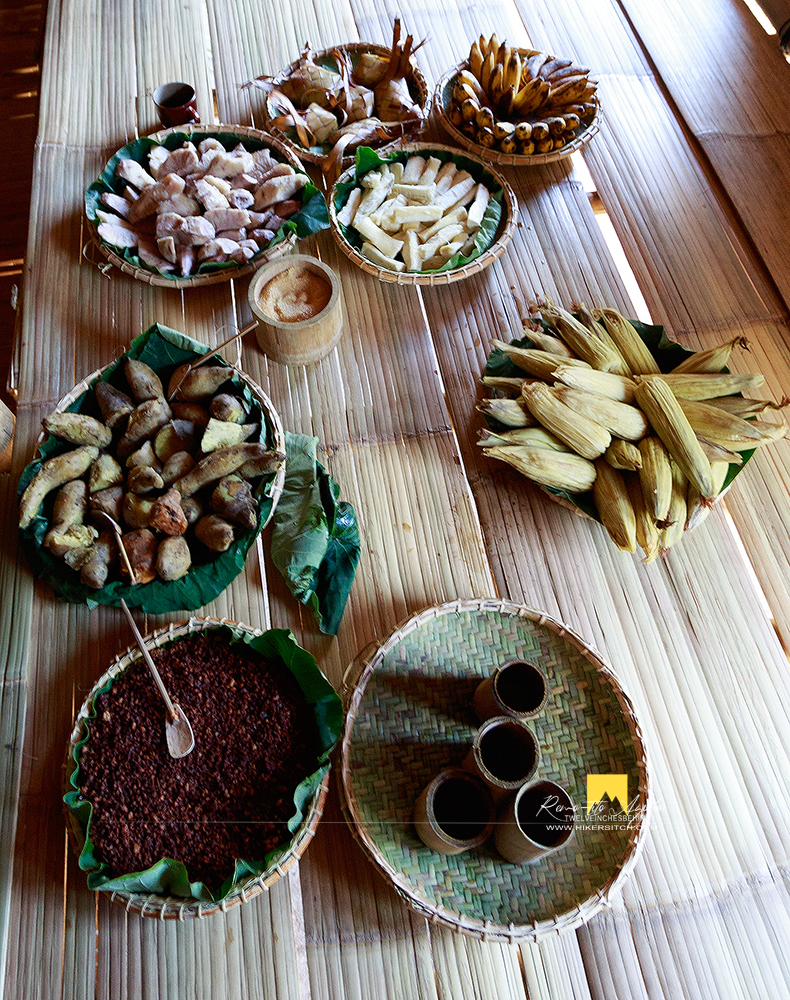 Variety of Tboli food to choose from