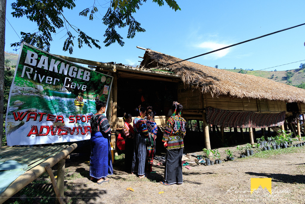 Bakngeb River Cave Adventure tourist receiving center. This homestay is ran by the local community of Tbolis