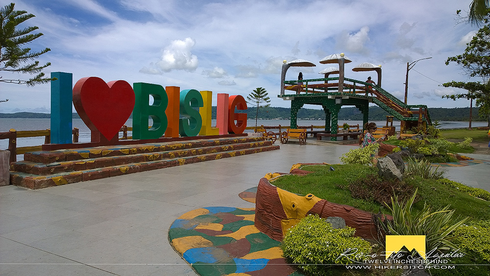 Bislig's baywalk.
